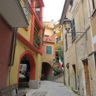 Colorful buildings of Monterosso