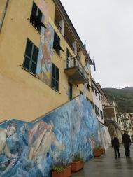 Mural in Riomaggiore