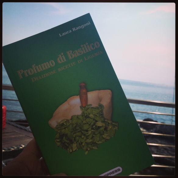 For our last Italian class, we walked down to the sea for aperitivo and Italian conversation.  Our colleague/teacher gave us these wonderful gifts so we can take a bit of Genoa with us!