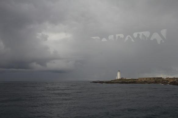 Moody seas