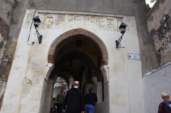 Entering the Medina