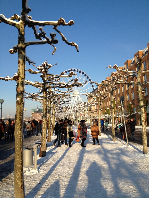 Dusseldorf: charming and magical in the snow